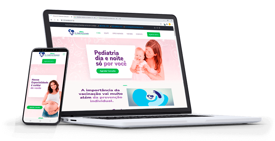 Site de Clínica Pediatra